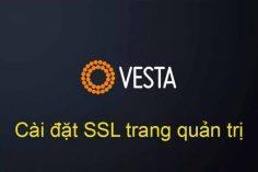 Cài ssl trang quản trị Vestacp